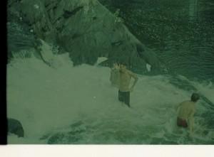 Photo Im at Falls in Maine